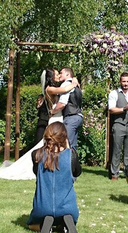 aleysha and sam wedding